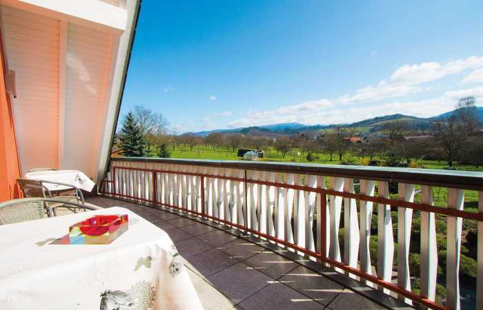 Haus Hornisgrinde Rechnen Ulm Balkon Blick