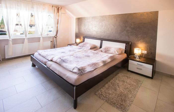 Schlafzimmer Haus Hornisgrindeblick Renchen-Ulm